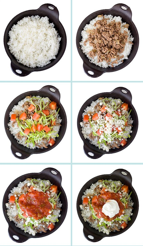 """Takoraisu"" (Taco rice), is a popular Okinawan dish invented in the 1960s by a Japanese chef who took the idea of tacos, so popular among the American military stationed on Okinawa, and combined it with rice, a staple item in the Okinawan diet. The dish has since become one of the most well-known Okinawan dishes. Its popularity has also spread into other parts of Japan. .  . . looks good to me!"
