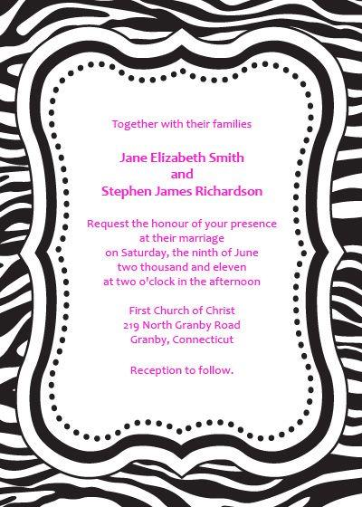 invitations to print free