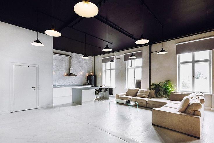 Warsaw Apartment by Maciej Kurkowski