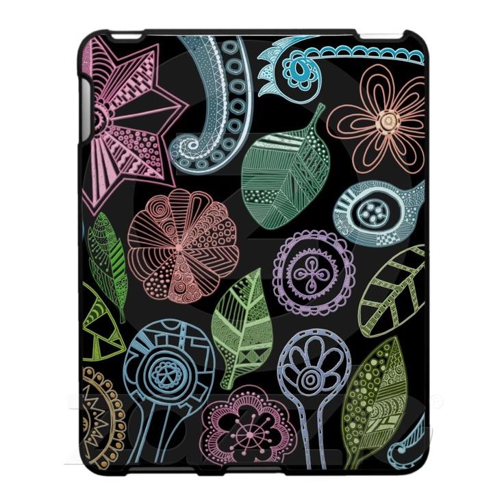 cute doodle ipad case