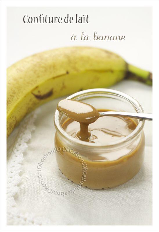confiture de lait à la banane
