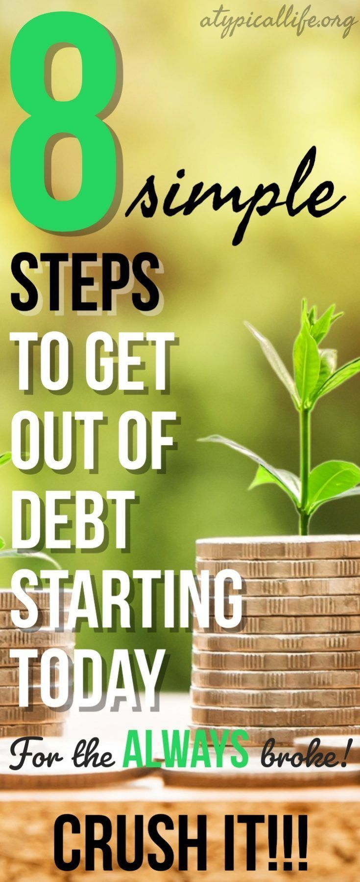 How to Get Out of Debt: 8 Simple Steps for the Always Broke