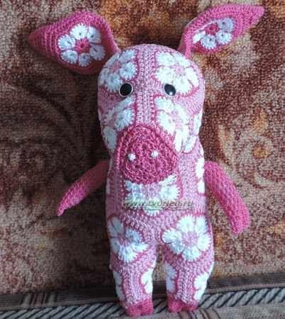 Crochet African Flower Animal Pattern Free Dancox For