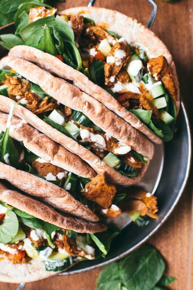 Meatless Gyro Wrap | Community Post: 15 Spectacular Vegetarian Dishes Everyone Will Love