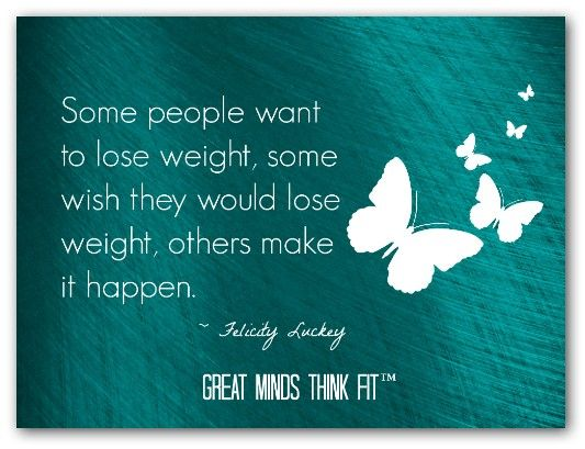 Will worrying cause weight loss