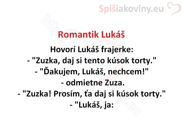 Romantik Lukáš - Spišiakoviny.eu