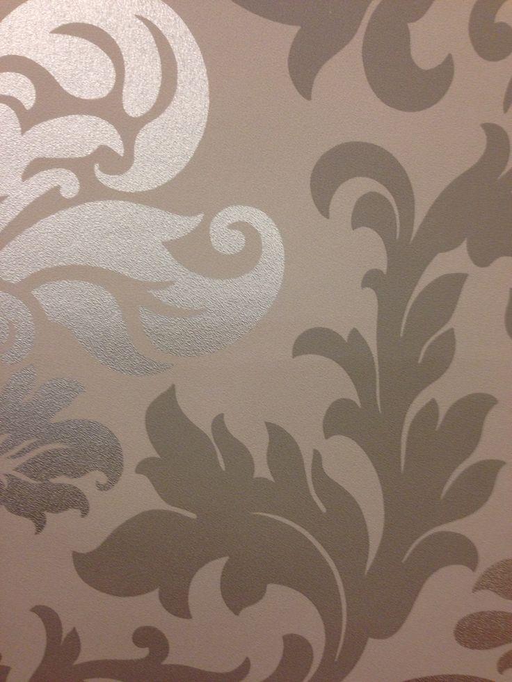 brons behangpapier barok  voorbeeld van een achtergrond voor de klassieke look.