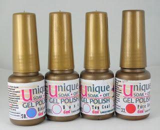 Paznokciowe pomysły(Ideas for nails): Lakier hybrydowy z allepaznokcie - opinia