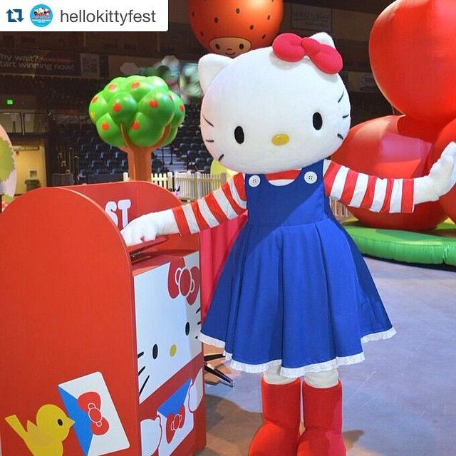 #TicketGiveaway Like & comment below for your chance to win a pair of tix to @HelloKittyFest this weekend at Target Center! Tickets are for the Sun 5/31 show. #hellokitty #hellokittyfest  PS.You can send @hellokitty a letter while you're at #HKFestival!