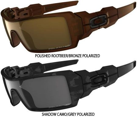 Oakley Oil Rig Men's Polarized Lifestyle Sunglasses Yep looks like Christmas gifts to me