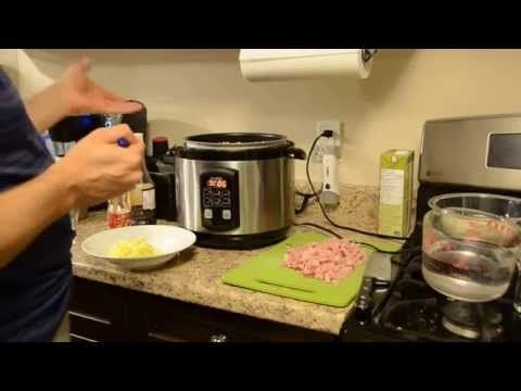 Pressure cooker fried rice, in just 8 minutes! - YouTube