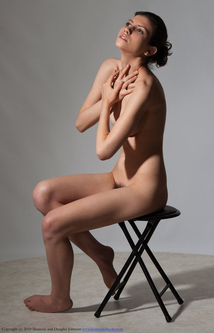 Art nude photo posing woman