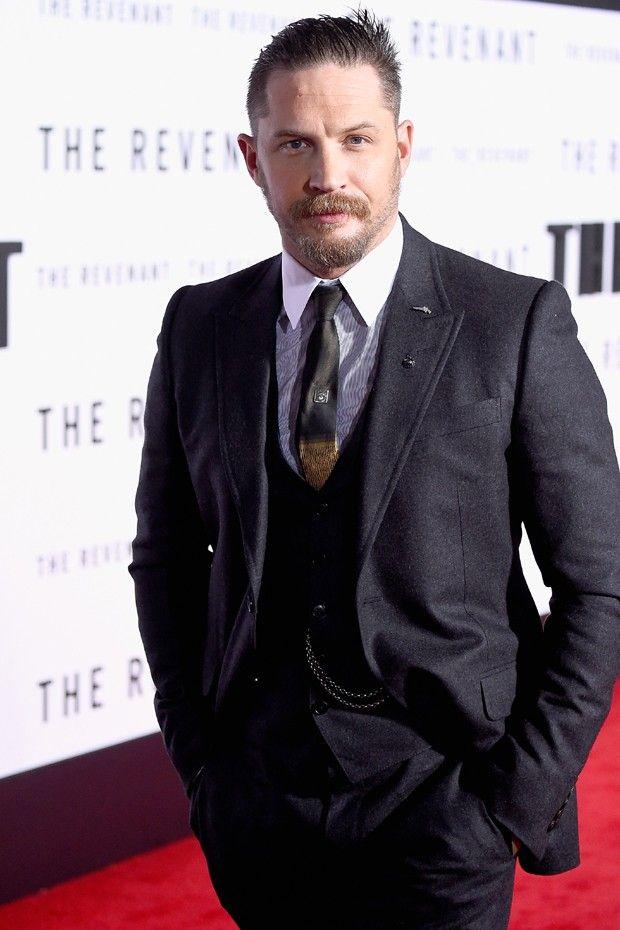 Mais elegantes da semana: Tom Hardy investe na tradição do terno