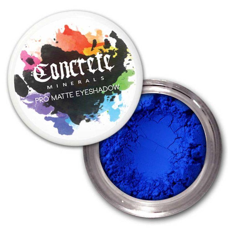 Concrete Minerals Bulletproof - Pro Matte oogschaduw blauw - Concrete
