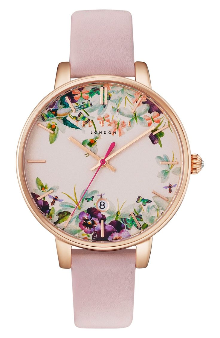 beautiful floral watch