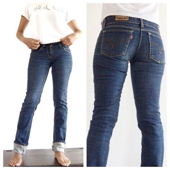 Fabulous Levis 507 vintage jeans W 27 L 40  Levis by PittiVintage