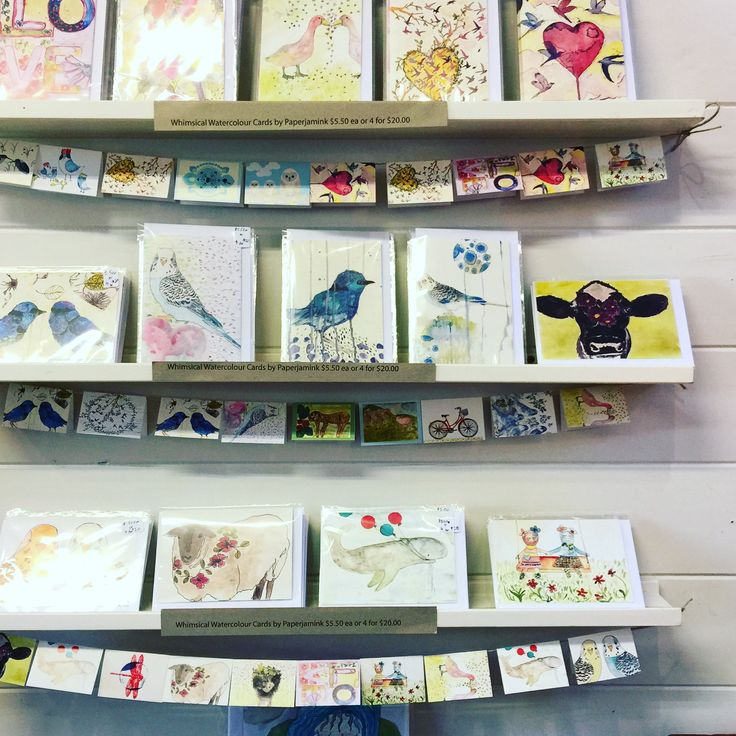 Whimsical Watercolour gift & greeting cards