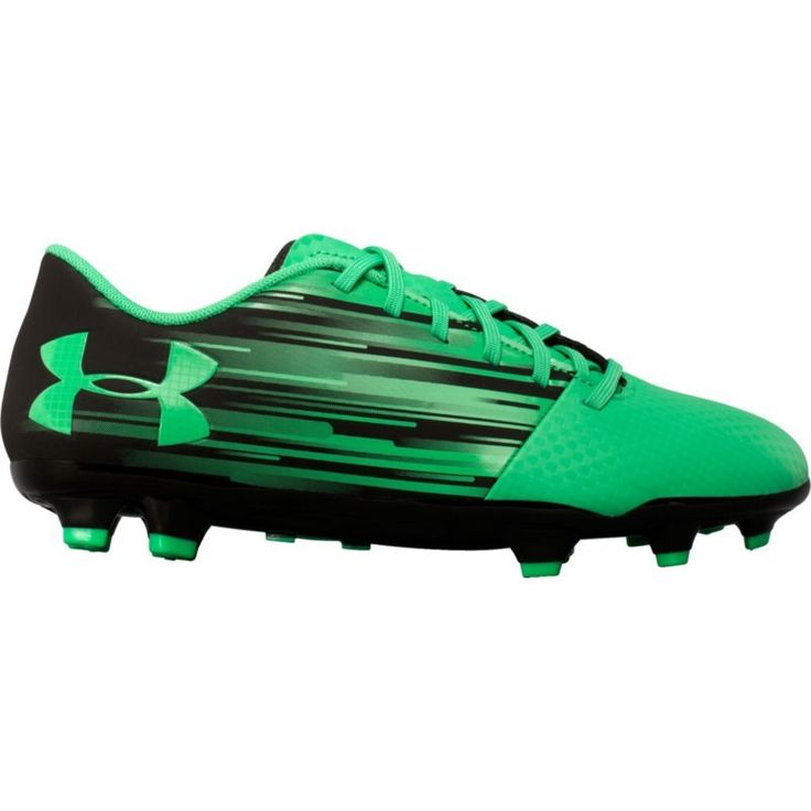 Under Armour Kids' Spotlight DL FG Soccer Cleats, Boy's, Black