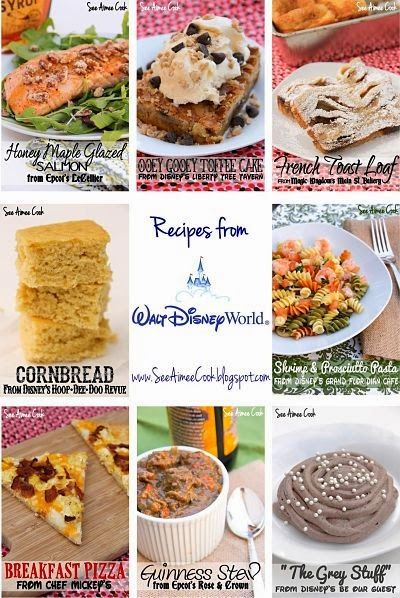 Disney Recipe Round-Up!
