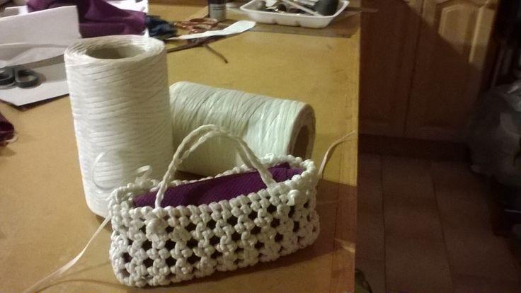 my finished little basket
