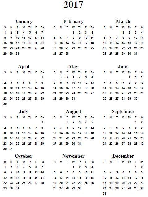calendar 2014 template
