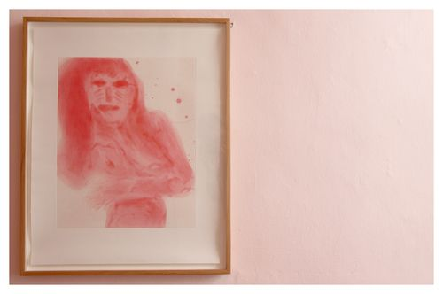 Georgina Gratrix | Miss Lux (4/25) | Spitbite Aquatint on Zerkall Intaglio | 67 x 54 cm