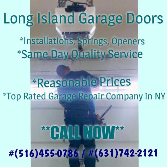 126 Best Long Island Garage Doors Repair Services Images On