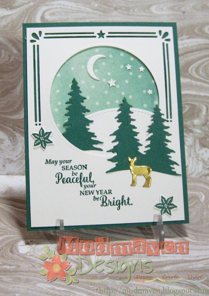 1713 best Christmas Cards - Stampin\' Up images on ... | 0001 card ...