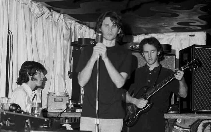 "onlovestreetwithjimmorrison: ""Jim, John and Robby. London Fog 1966. """