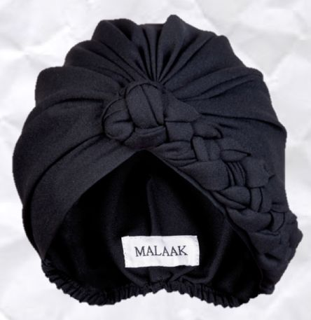 Malaak Turbans...a turban I don't have to tie. #turban #judithm Nicely shaped turban by Malaak.