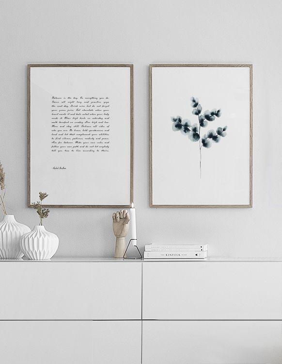 Inspiration für Bilderwände und Postercollagen