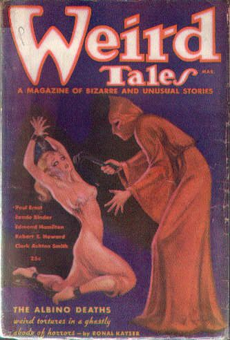 https://flic.kr/p/7agDq2 | Pict0073 | Pulp magazine Weird Tales, cover by Margaret Brundage