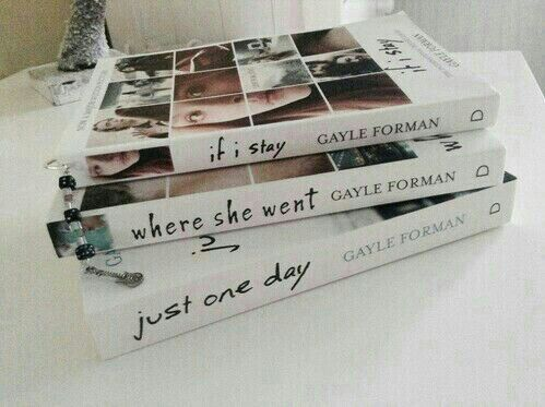 If I Stay Series at https://www.pinterest.com/pin/301459768783129899/