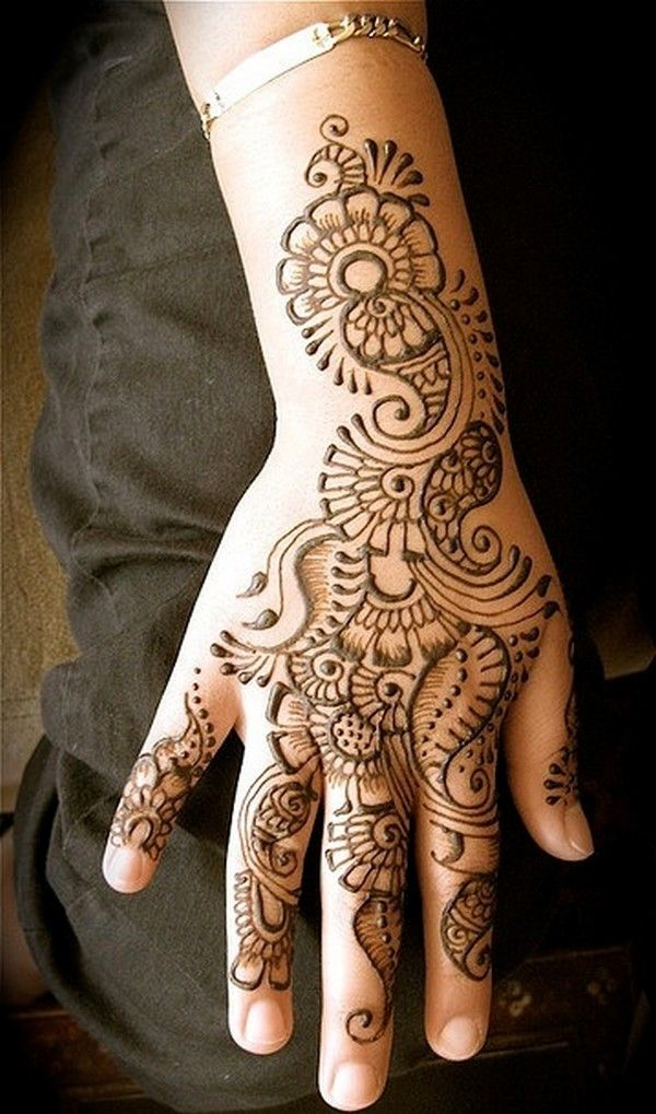 Henna (I did this once, and it lasted about a month. Sometime I would like to do it again.)