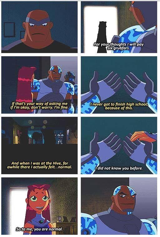 Sad Cyborg Ugh The Feels That Was A Gude Episode  Teen -1066