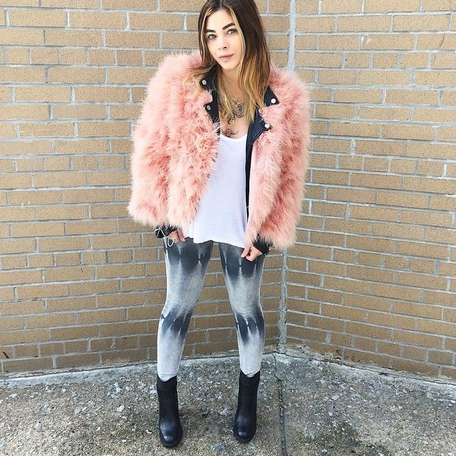 @lecitykitty rocking the #denimocracy Anarchys in Storm | Find even more tie dye washes at denimocracyusa.com
