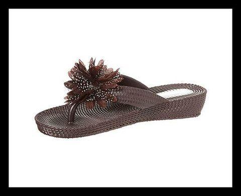 Chocolate Summer Sandals