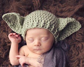 Star Wars Baby Yoda Hat Preemie Newborn 0 3m 6m Crochet Photo Prop Baby Clothes Boys Girls Gender Neutral Daddys Fathers Day Gift So Cute