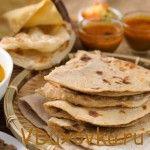 Веганские рецепты: Чапати вкусная индийская лепешка