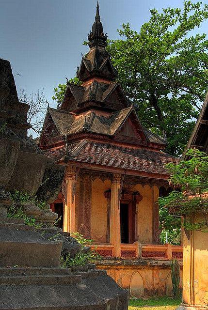 Wat Sisaket in Vientiane Laos