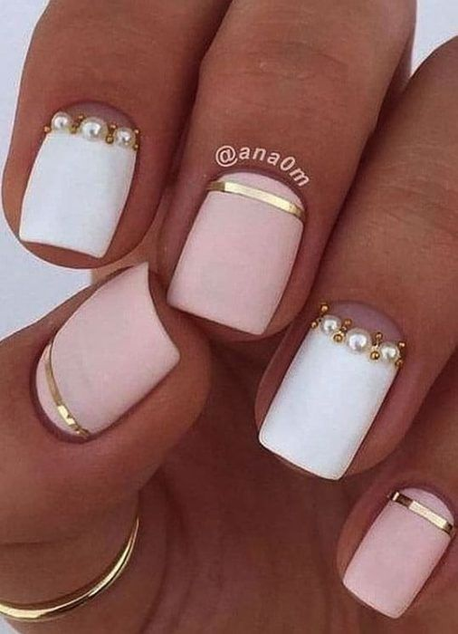 Short Acrylic Nail Designs You Can Use in Summer and Winter