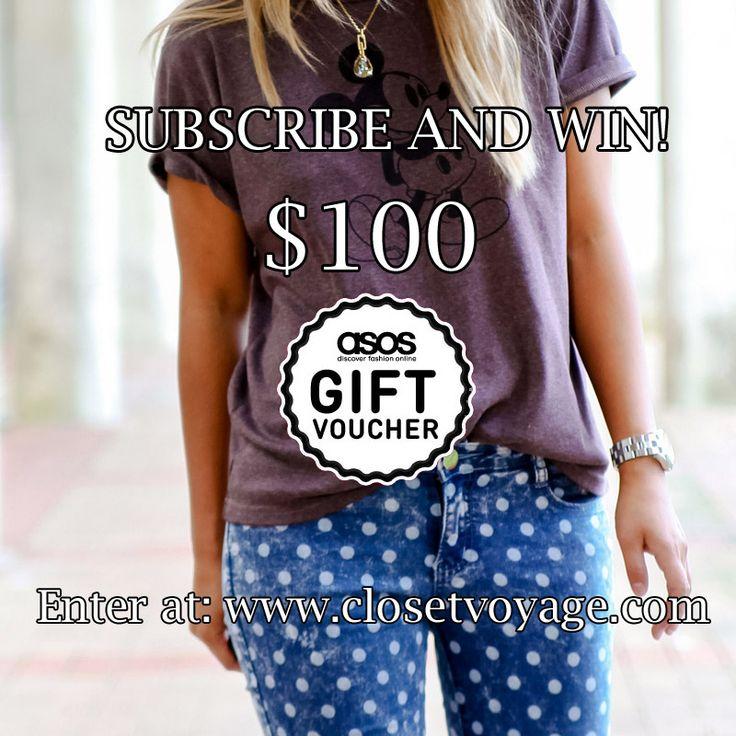 WIN a $100 ASOS Gift Voucher!