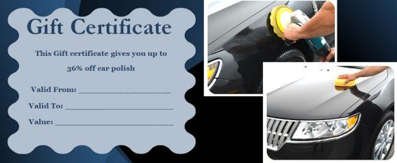16 Personalized Auto Detailing Gift Certificate Templates Demplates Gift Certificate Template Automotive Gift Gift Certificate Template Word