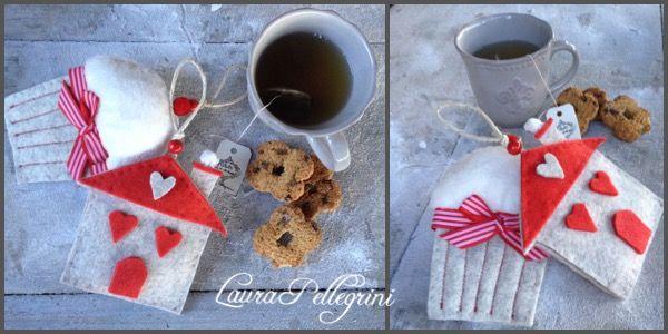 Decorazioni natalizie fatte a mano. Laura Pellegrini