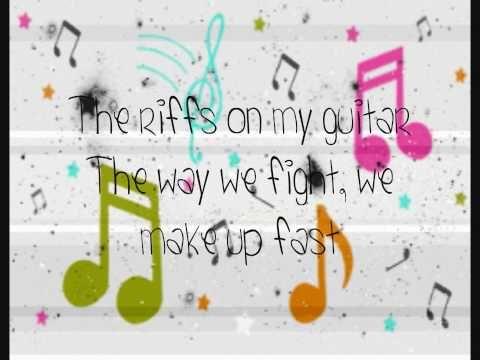 ▶ Orianthi - Shut Up & Kiss Me Lyrics - nikki hay and chole sing