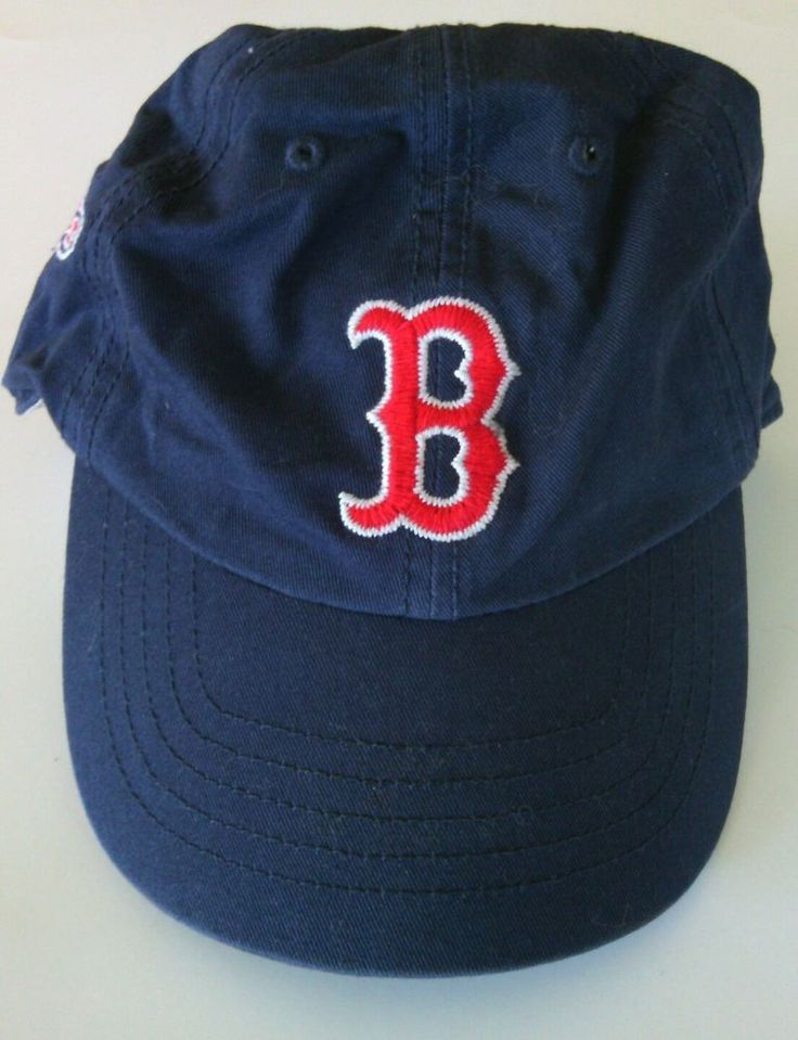 Boston Red Sox 1901 Baseball Cap Size Large Hat Navy 47 Twins Curved Visor Ball