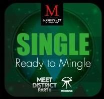 GET READY for Kuala Lumpur's Biggest Singles Event at Marini's on 57. Get your Green, Yellow, and RED outfits ready for Meet District Part II: Traffic Light Edition (Dress your Status). Best Dressed attendees stand a chance to win Sunset Hour Vouchers worth RM250. Enjoy welcome cocktails while stocks last and No Cover Charge. Party Starts at 9pm with the mesmerizing Calvin Clarke on the bongos.  Dress Code: Traffic Light Edition (Dress Your Status) Green: Single Yellow: Complicated Red…