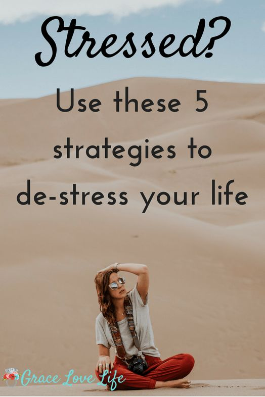 Feeling stressed? Use these 5 simple strategies to help you cope with stress and de-stress your life.