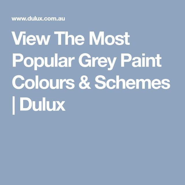 Dulux Most Popular Grey Paint Colours: Best 25+ Dulux Grey Ideas On Pinterest