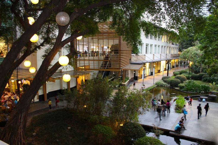 Filipinos love their Malls. Seen here is Greenbelt Mall, Makati City
